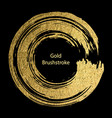 gold round design templates for for poster vector image vector image