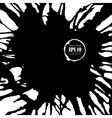 ink splashes background for design vector image vector image