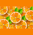 paper orange on orange background vector image vector image