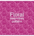 Red-violet floral seamless pattern vector image vector image