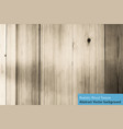 brown wood texture realistic background vector image vector image