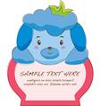 Cute Animal Tab vector image vector image