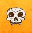 Skull Cartoon vector image vector image