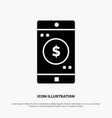 application mobile mobile application dollar vector image