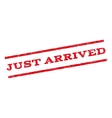 Just Arrived Watermark Stamp vector image