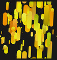 yellow abstract modern gradient background with vector image vector image