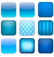 Blue app icons vector | Price: 1 Credit (USD $1)