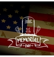 Happy Memorial Day vector image vector image