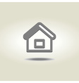 homepage or house icon vector image