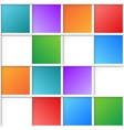 multicolor squares vector image vector image