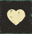 Rustic Love Heart vector image vector image
