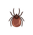 tick insect pest control parasites extermination vector image vector image