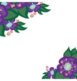 beautiful bright floral background vector image vector image
