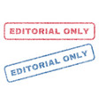 editorial only textile stamps vector image vector image