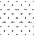 flight avia show pattern seamless vector image vector image