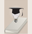 graduation concept vector image vector image