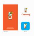 internet error company logo app icon and splash vector image vector image