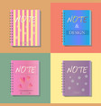 note notebook office icon design vector image