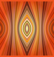 striped orange seamless pattern in retro style vector image