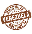 welcome to venezuela vector image vector image