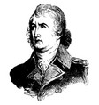 william moultrie vintage vector image vector image