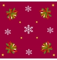 bells and snowflakes vector image
