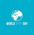 celebration world ocean day background vector image