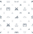 ancient icons pattern seamless white background vector image vector image