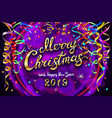 colorful festive for celebratory party and vector image vector image