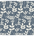 Leaves branches floral seamless pattern vector image vector image