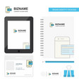 online banking business logo tab app diary pvc vector image vector image