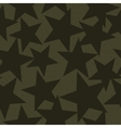 Stars shapes camouflage vector image vector image