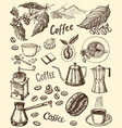 traditional filter coffee maker modern vintage vector image vector image