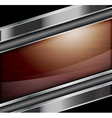 Wooden polished background vector image vector image