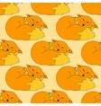 funny Fox pattern vector image