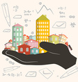 Architect Building Project - Development - P vector image vector image