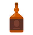 cognac icon cartoon style vector image vector image
