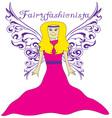 Fairy Fashionista vector image vector image