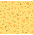 honey background vector image