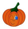 Kawaii pumpkin Cute cartoon vector image vector image