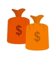 Money Bags vector image vector image