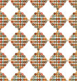 seamless pattern shape with circles vector image vector image