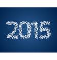 Snow 2015 vector image vector image