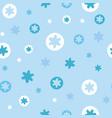 abstract irregular star dot pattern vector image vector image