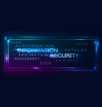 backgroud security vector image