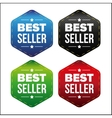 Best Seller patch set vector image