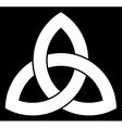 Celtic Triquetra knot vector image