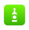 japanese sake icon digital green vector image vector image