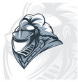 monochrome knight offers for tattoo vector image vector image