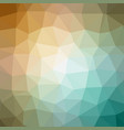 quad color polygonal background in aqua gold tone vector image vector image